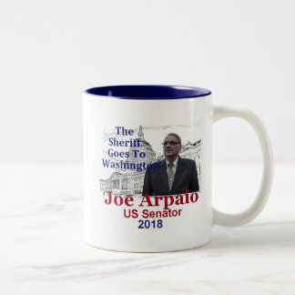 Joe ARPAIO AZ 2018 Two-Tone Coffee Mug