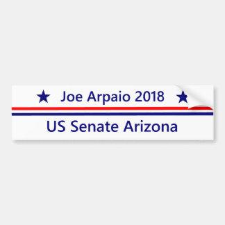 Joe Arpaio US Senate 2018 Arizona Bumper Sticker