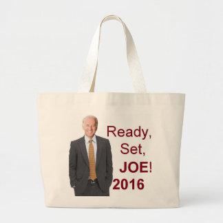 Joe BIDEN 2016 Jumbo Tote Bag