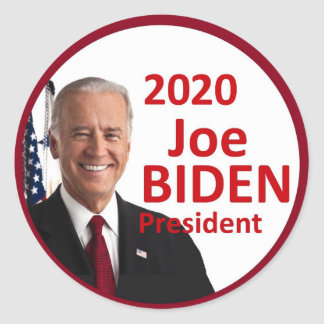 Joe BIDEN 2020 Classic Round Sticker