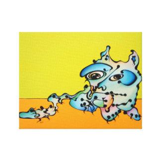 Joe Cat Canvas Prints