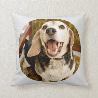 Joe Cup of Blue Beagle Pillow