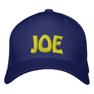 JOE EMBROIDERED HAT