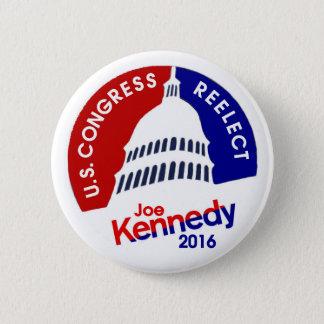 Joe Kennedy 2016 6 Cm Round Badge