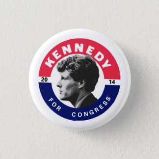 Joe Kennedy for Congress 2014 3 Cm Round Badge