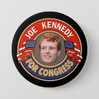 Joe Kennedy for Congress 7.5 Cm Round Badge