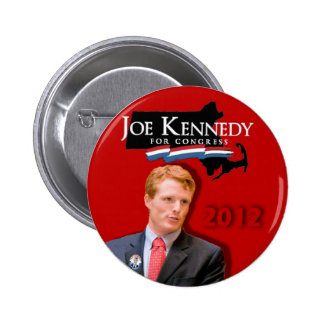 Joe Kennedy for Congress Red 6 Cm Round Badge