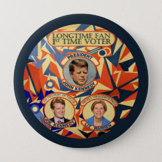 Joe Kennedy for President 2016 10 Cm Round Badge