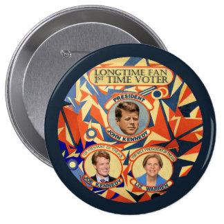 Joe Kennedy for President 2016 10 Cm Round Badge