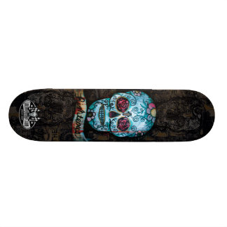Joe Morris Art Skull Deck II Skateboard Deck