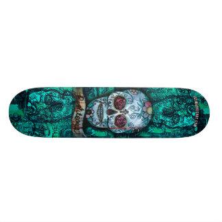 Joe morris Art Skull Deck Skateboard
