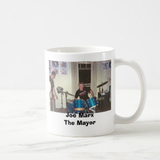 Joe on Drums GIF, Joe MarxThe Mayor Coffee Mug