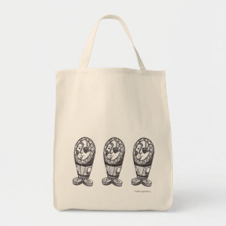 Joe - original art - drawing - grocery tote