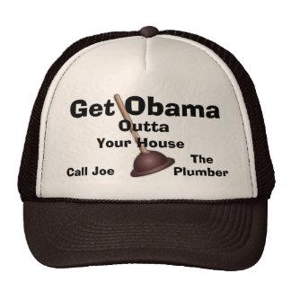 Joe The Plumber Cap-Get Obama Outta.. Cap