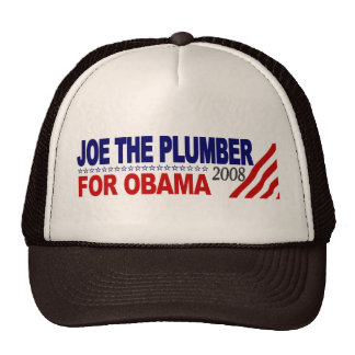 Joe the Plumber for Obama Cap