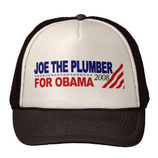 Joe the Plumber for Obama Cap
