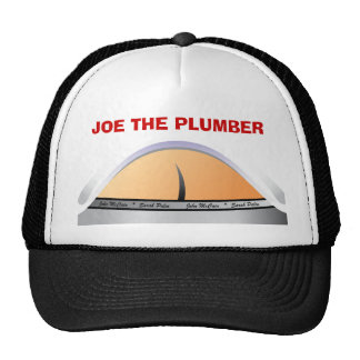 JOE THE PLUMBER MESH HAT