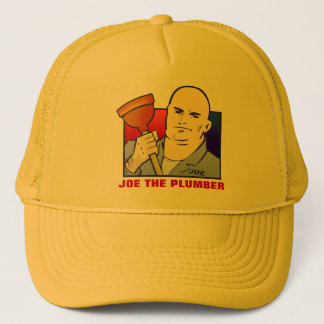 JOE THE PLUMBER TRUCKER HAT