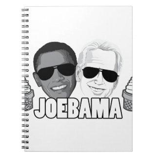 JoeBama Ice Cream Note Book
