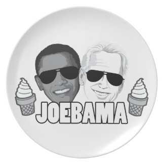 JoeBama Ice Cream Plate
