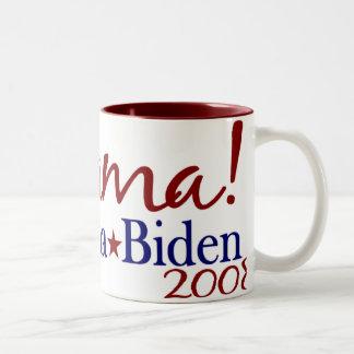 JoeBama (Obama Biden 2008) Two-Tone Mug