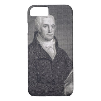 Joel Barlow (1754-1812), engraved by Asher Brown D iPhone 7 Case