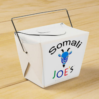 Joe's official Billy Blue Goat Take-Out Box