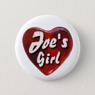 JoesGirl2 6 Cm Round Badge