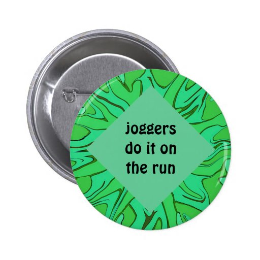 joggers do it on the run pin