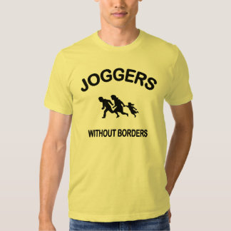 Joggers Without Borders Tshirt
