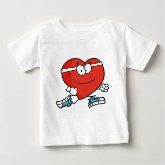 Jogging Heart Baby T-Shirt