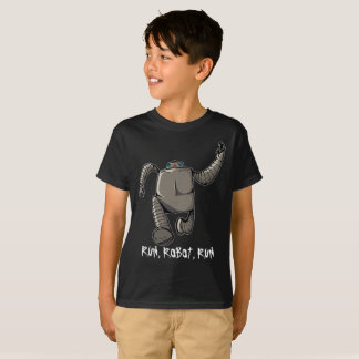 Jogging Robot T-Shirt