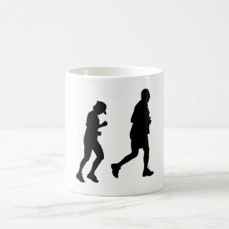 Jogging Silhouette Coffee Mug