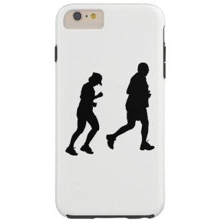 Jogging Silhouette Tough iPhone 6 Plus Case