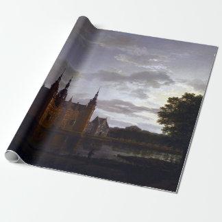 Johan Christian Claussen Dahl Frederiksborg Castle Wrapping Paper