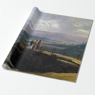 Johan Christian Dahl View from Bastei Wrapping Paper