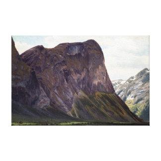 Johan Fredrik Eckersberg From Horgheim in Romsdal Canvas Print