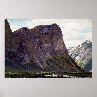 Johan Fredrik Eckersberg From Horgheim in Romsdal Poster