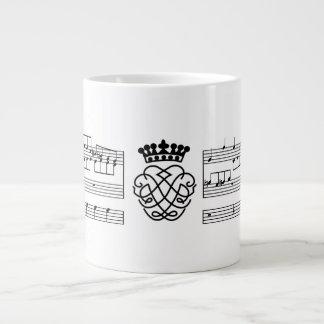 Johan Sebastian Bach - Contrapuntual Large Coffee Mug