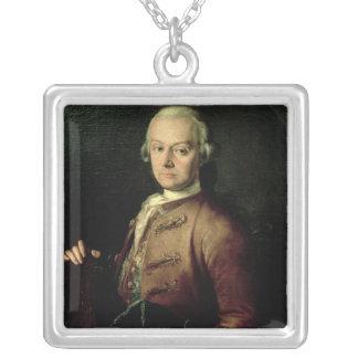Johann Georg Leopold Mozart Silver Plated Necklace