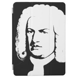 Johann Sebastian Bach abstractly in black and iPad Air Cover