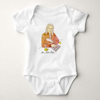 Johann Sebastian Bach drawn Baby Bodysuit