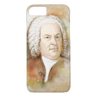 Johann Sebastian Bach in the water color style iPhone 7 Case