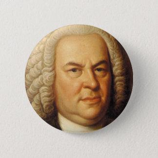 Johann Sebastian Bach Items 6 Cm Round Badge