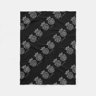Johann Sebastian Bach seal Fleece Blanket