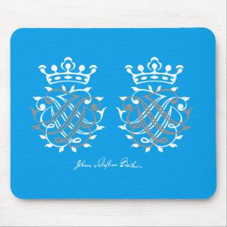 Johann Sebastian Bach seal JSB + BSJ Mouse Pad