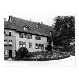 Johann Sebastian Bach's  house Postcard