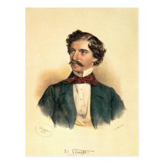 Johann Strauss the Elder Postcard
