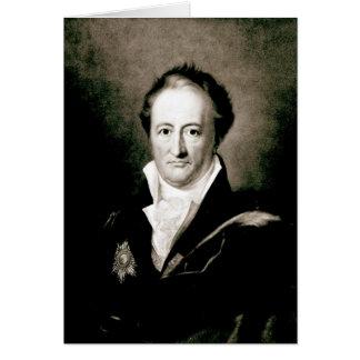 Johann Wolfgang Goethe Card