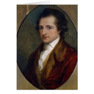 Johann Wolfgang von Goethe, 1775 Card